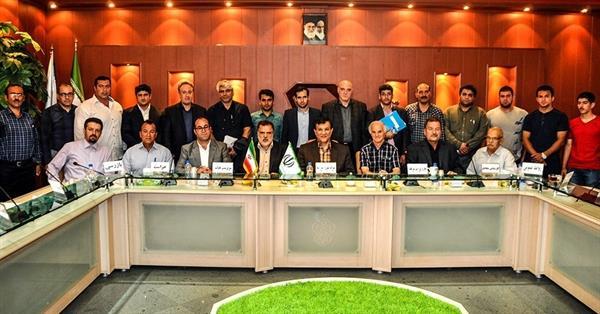 با حضور رئیس فدراسیون در مجمع انتخاباتی هیئت وزنه برداری آذربایجان شرقی