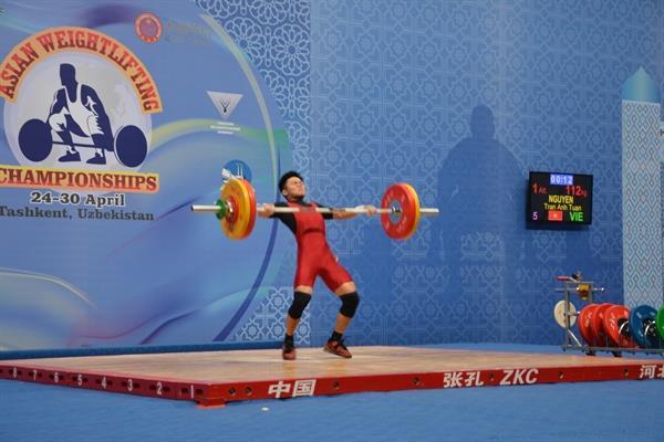 مسابقات وزنهبرداری قهرمانی آسیا - تاشکند