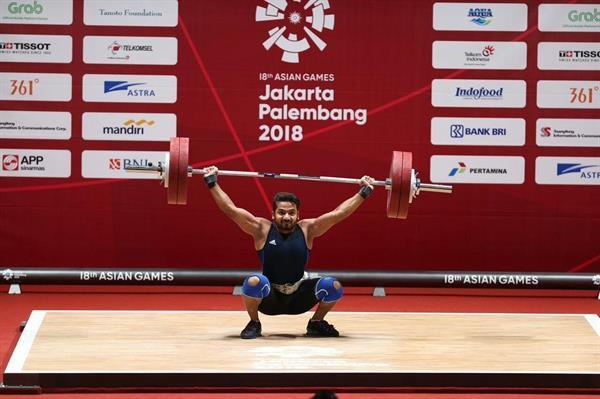 مجید عسکری پس از حذف از بازی های آسیایی:وزنه ها سبک بودند اما آرنجم یاری نکرد