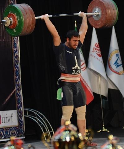 بیرالوند به عنوان بهترین وزنه بردار انتخاب شد