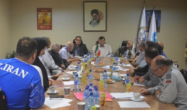 بیست و چهارمین جلسه شورای عالی فنی وزنه برداری برگزار شد