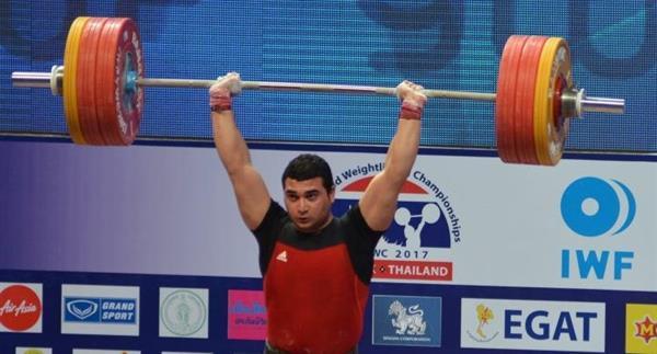 پس از پایان رقابت دسته 94 کیلوگرم قهرمانی جهان
