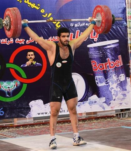 رقابت دسته 94 کیلوگرم، قهرمانی نوجوانان سراسر کشور