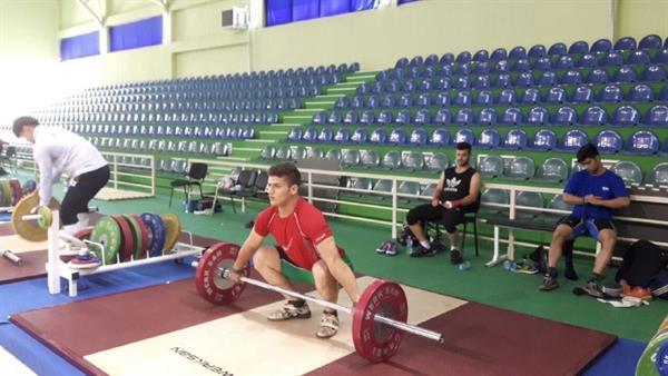 دو ساعت تمرین فشرده قبل از آغاز مسابقات