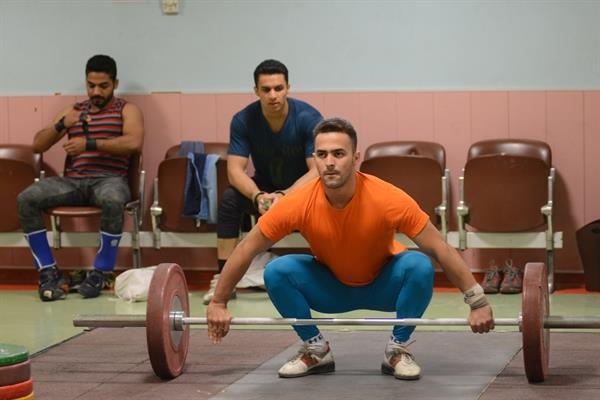 نخستین تمرین تیم ملی وزنه برداری بزرگسالان در سال 96