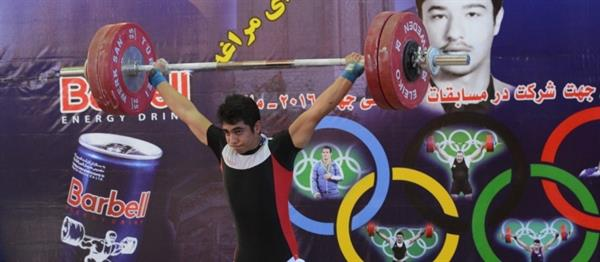 مسابقات وزنه برداری قهرمانی نوجوانان16 و 17 سال- مراغه