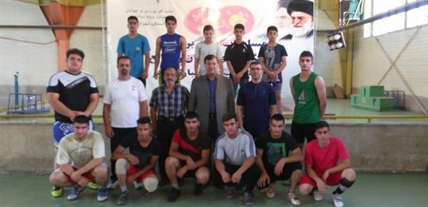 رئیس فدراسیون از اردوی نوجوانان بازدید کرد