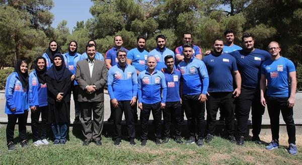 تیم ملی وزنهبرداری کشورمان چهارم شد