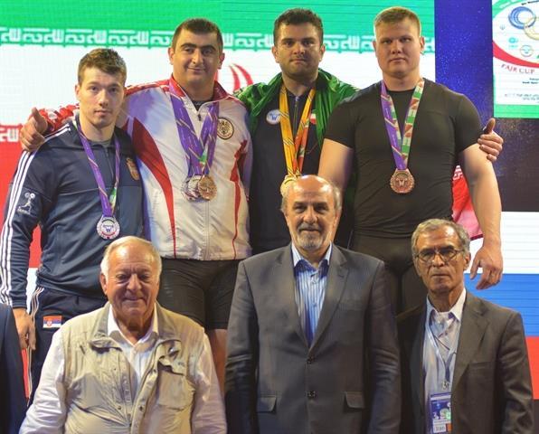 رقابتهای دسته 105 کیلوگرم جام فجر