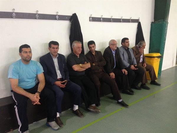 مسئولان بابلسری از اردوی تیم ملی بزرگسالان بازدید کردند