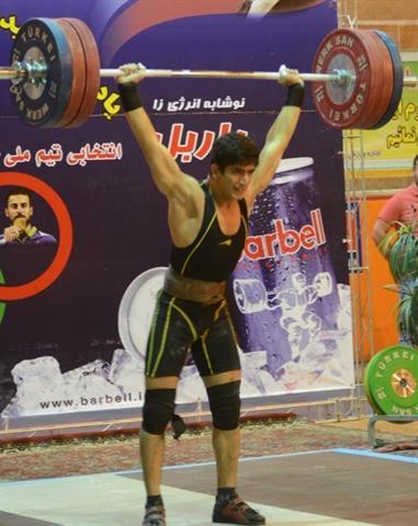 پس از 8 سال رکورد ایران در دسته 77 کیلوگرم شکسته شد