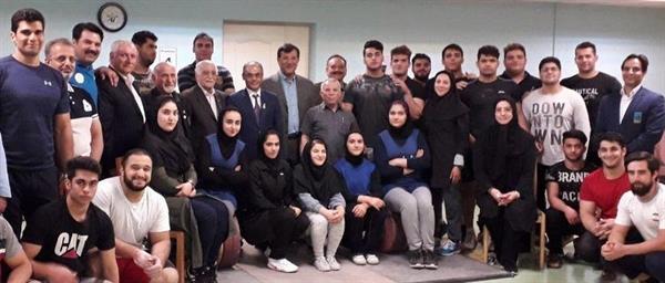 نخستین گروه کاروان وزنه برداری، پنجشنبه عازم ازبکستان می شود