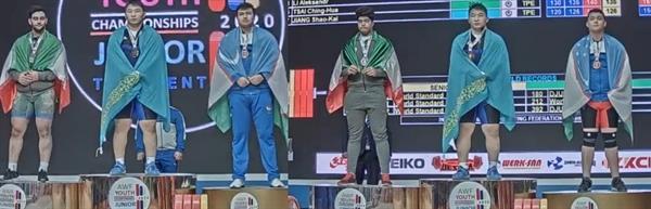 نایب قهرمانی عمادی و خاکپور در دسته 102 کیلوگرم