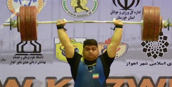 پایان رقابت دسته 105+ کیلوگرم قهرمانی جوانان کشور