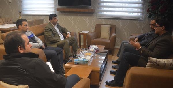 عباس رحیمی با رییس فدراسیون وزنه برداری دیدار کرد