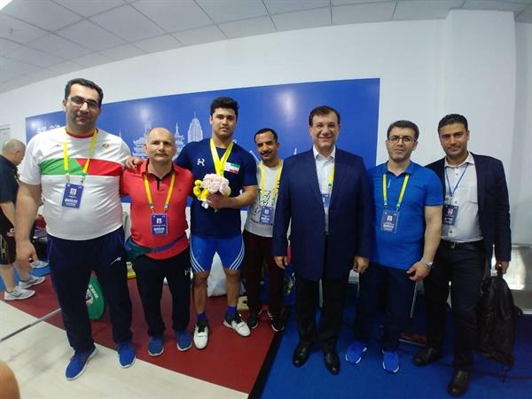 مدال نقره آسیا به موسوی رسید/ حمله ناموفق تیان تائو به رکود سهراب