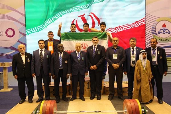 هر 9 مدال به وزنه برداران ایرانی رسید