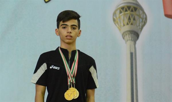 مسابقات قهرمانی نوجوانان 16 و 17 سال کشور