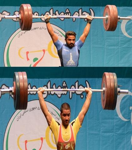 رقابت اوزان 67 و 73 کیلوگرم برگزار شد