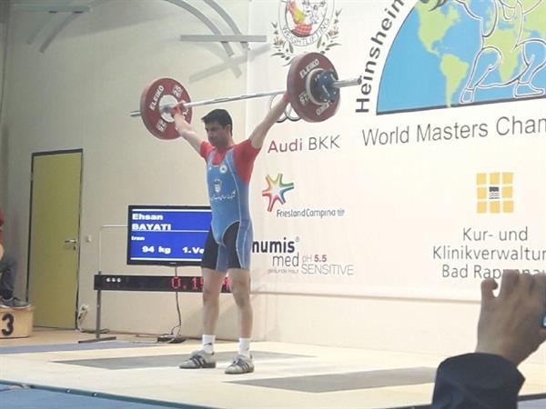 مسابقات وزنه برداری قهرمانی پیشکسوتان-آلمان