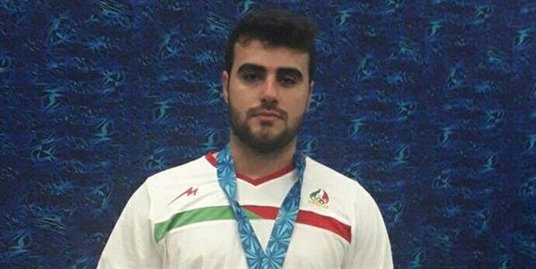 طاهری در جایگاه چهارم ایستاد/ کسب تک مدال نقره در حرکتیکضرب