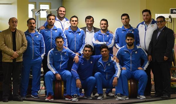 کمیته ملی المپیک قهرمانی تاریخی تیم ملی وزنه برداری را تبریک گفت