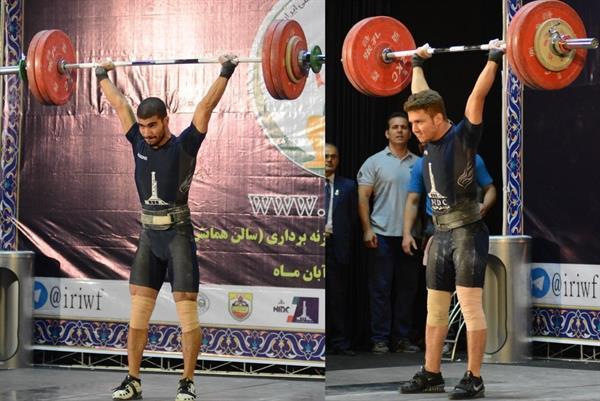 وزنه برداران ملی حفاری صدرنشین اوزان 62 و 69 کیلوگرم شدند