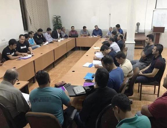 جلسه کنگره مسابقات قهرمانی جوانان کشور مراغه برگزار شد