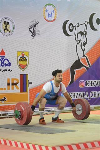 قاسمی سه مدال طلای دسته 73 کیلوگرم را به خود اختصاص داد
