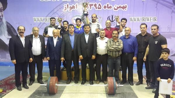 با پایان لیگ وزنه برداری جوانان استان خوزستان