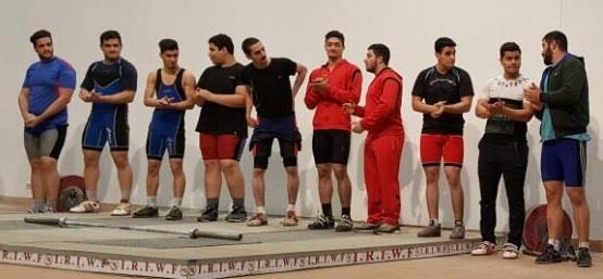 مسابقات وزنه برداری قهرمانی جوانان استان گیلان