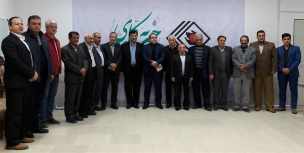 بازدید رییس فدراسیون و هیات همراه از انجمن حمایت از بیماران کلیوی زنجان