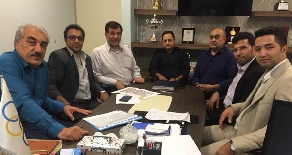 جلسه مسئولان دفتر استعدادیابی وزارت ورزش و جوانان برگزار شد