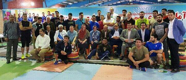 نایب رئیس فدراسیون جهانی از اردوی تیم ملی بزرگسالان بازدید کرد