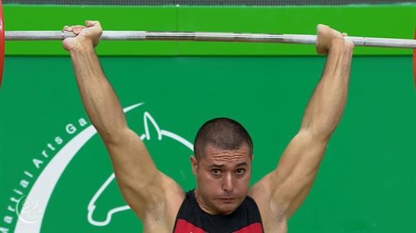 نخستین مدال وزنه برداری ایران به میری رسید