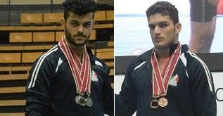 کسب 3 مدال نقره و 2 برنز برای نمایندگان جوان ایران در دسته 85 کیلوگرم