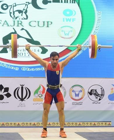 دومین دوره مسابقات بین المللی وزنه برداری جام فجر - اهواز