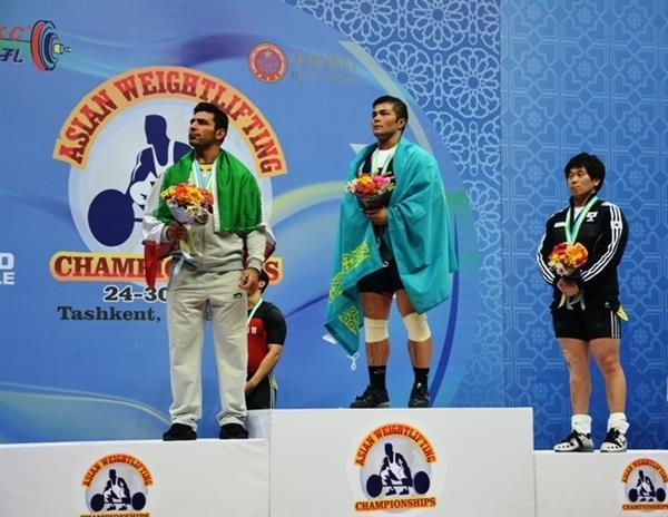 رقابتهای دسته 94 کیلوگرم قهرمانی آسیا در تاشکند