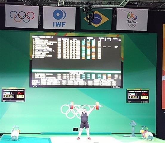 تسخیر رکورد یکضرب جهان و المپیک با دستان قویترین مرد ایرانی جهان