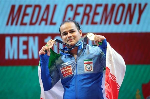 دهدار اولین طلایی وزنهبرداری ایران
