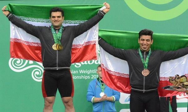 کولاک وزنهبرداران 105 کیلوی ایران در ترکمنستان