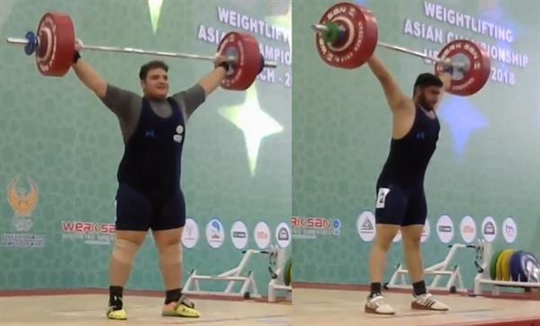 قوی ترین وزنه بردار نوجوانان آسیا، ایرانی شد