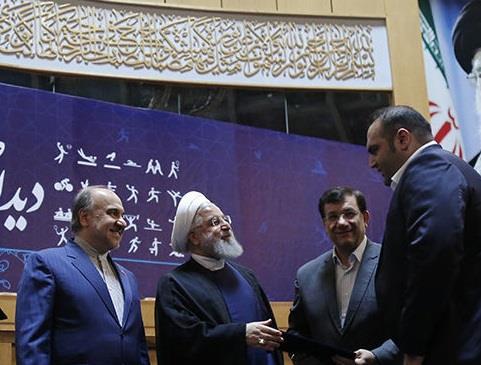 رئیس جمهوری: قهرمانان همواره برای ملت ایران و جوانان امیدآفرین بودهاند