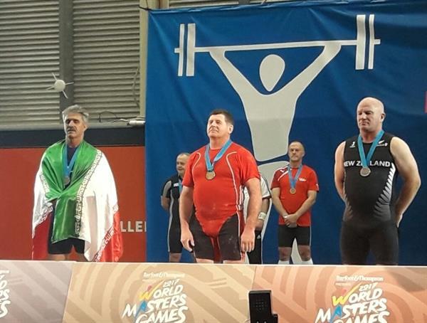 رقابت وزنه برداری المپیک پیشکسوتان - نیوزیلند