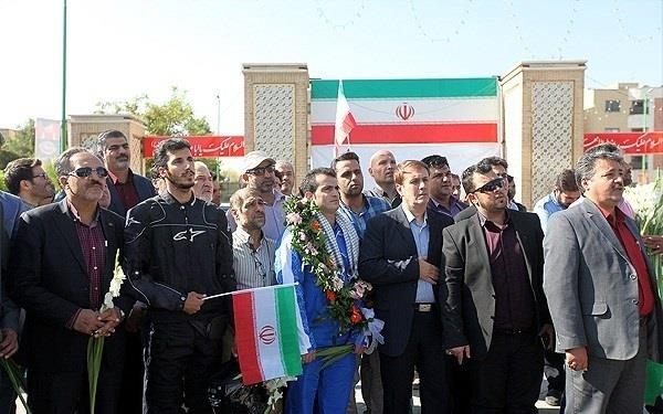 استقبال از نخستین مدالآور ورزش اصفهان در المپیک