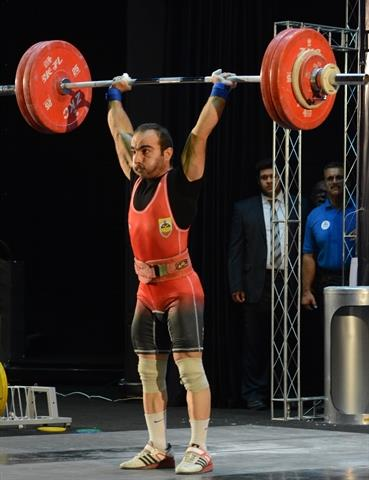 رقابت دسته 62 کیلوگرم پایان یافت