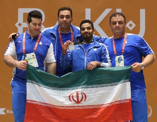 پس از کسب مدال نقره بازی های همبستگی کشورهای اسلامی