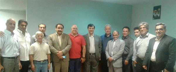 جلسه کمیته پیشکسوتان برگزار شد