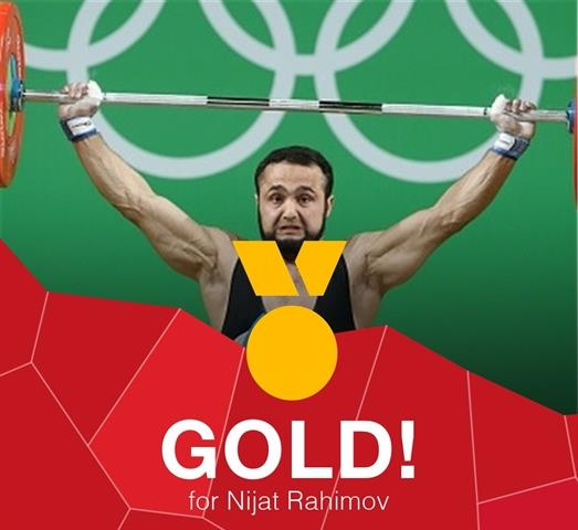 شکستن رکورد دنیا و بازی های المپیک در دسته ۷۷ کیلوگرم