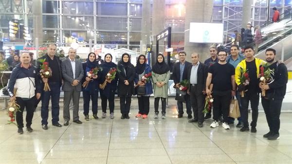 اعضای اعزامی به جام بینالمللی نعیم سلیمان اوغلو وارد ایران شدند